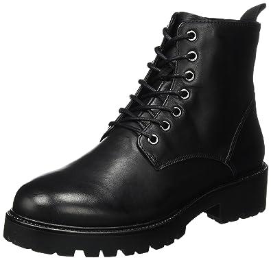 3fc455b2286452 Vagabond Kenova Damen Combat Boots Stiefeletten Schwarz  Vagabond ...