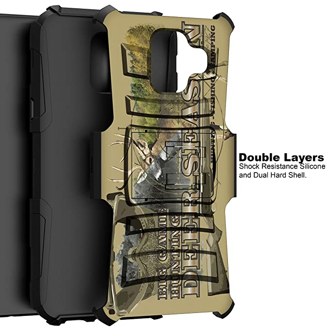 Amazon.com: TurtleArmor | Compatible with Samsung Galaxy A6 Case (2018) | A600 [Hyper Shock] Hard Reinforced Rugged Impact Belt Clip Holster Kickstand Girls ...