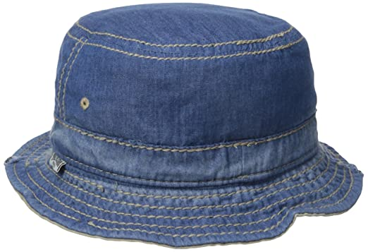 True Religion Men s Reversible Denim Bucket Hat 7b08e746299