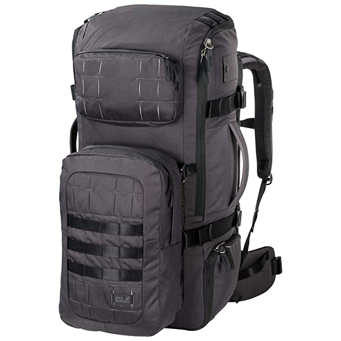 35c33beac20af Jack Wolfskin TRT 85 Backpack grey 2018 outdoor daypack  Amazon.co.uk   Sports   Outdoors