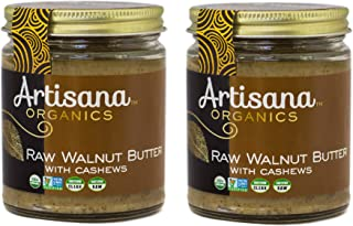 product image for Artisana Organics Raw Walnut Butter with Cashews, 8 oz (2 Pack)