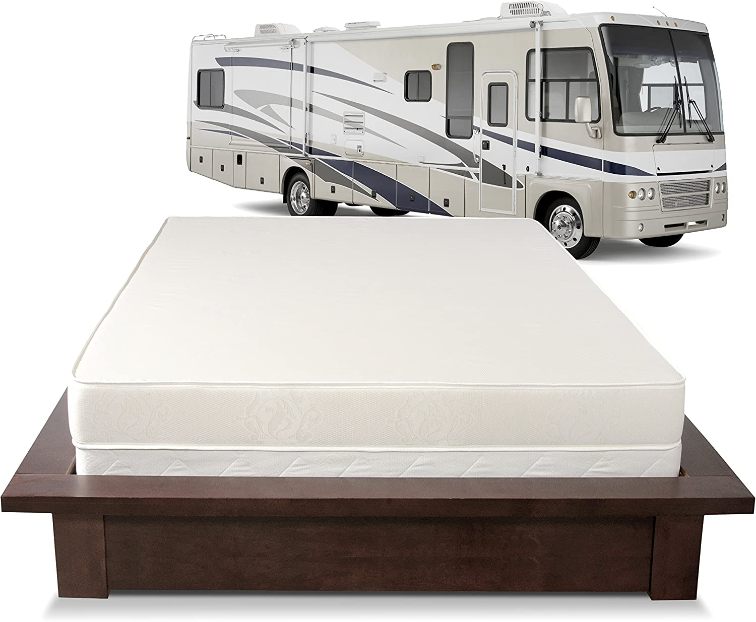 Serenia Sleep 6-Inch RV Mattress, Short Queen