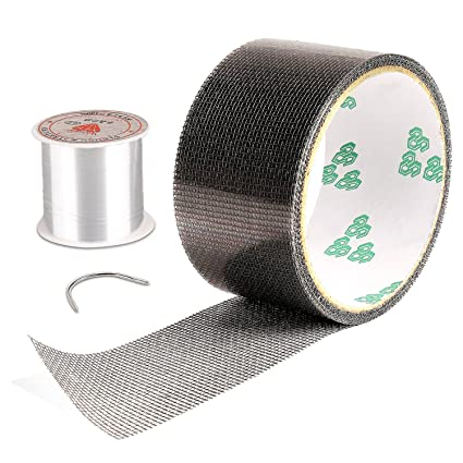 Merveilleux Screen Repair Kit, Door Window Screen Patch Tape Fiberglass Covering Wire  Mesh Repair Tape Strong