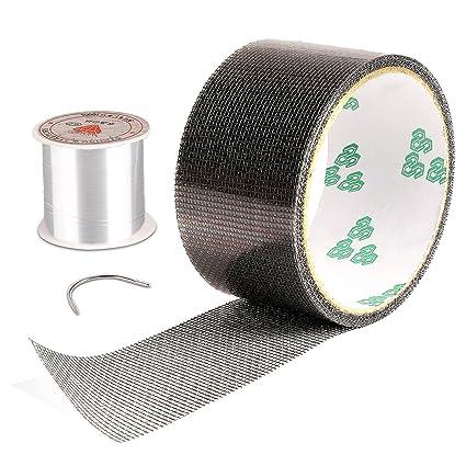 Screen Patch Repair Kit, Door Window Screen Repair Tape Fiberglass Covering  Mesh Tape Waterproof Strong