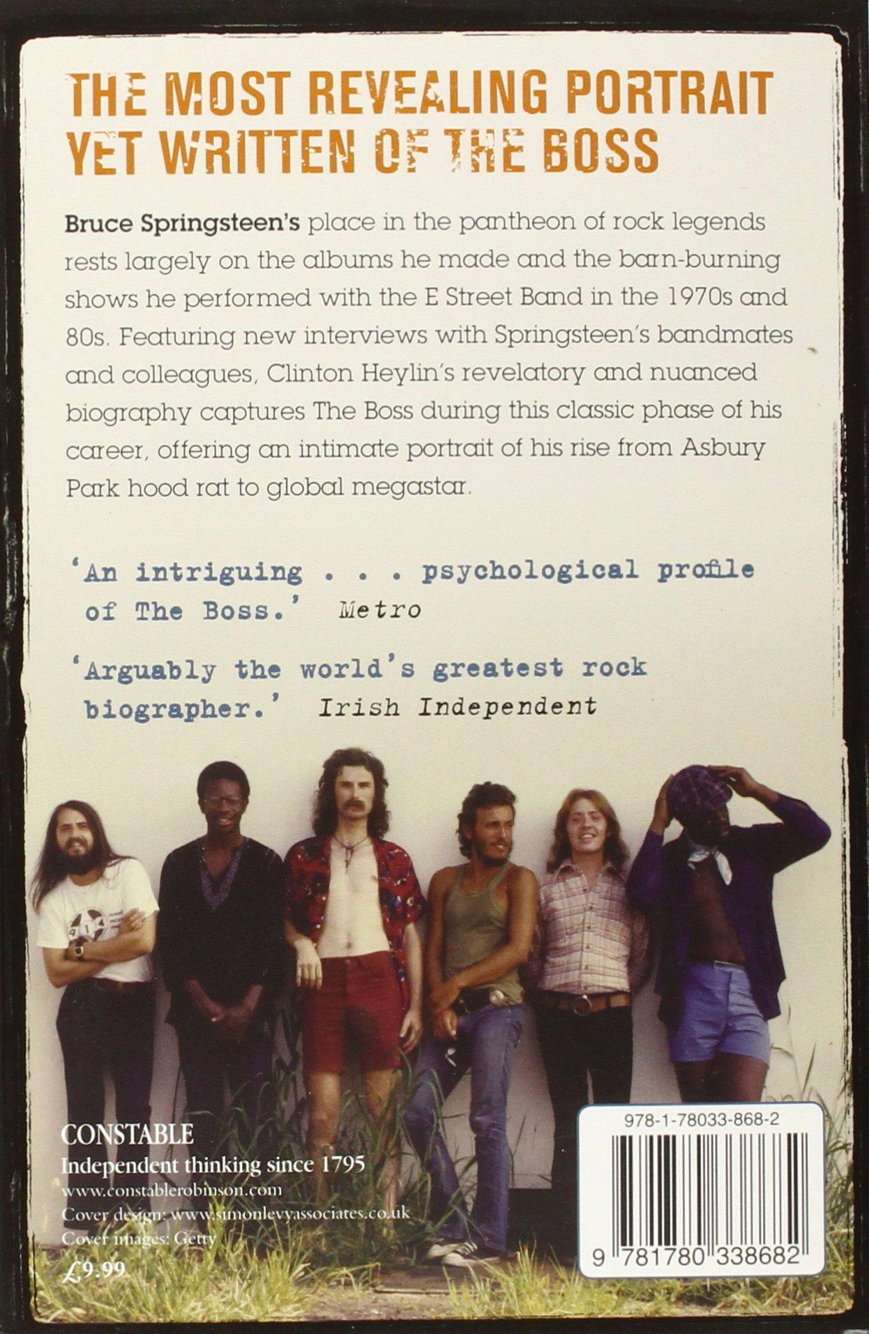 E Street Shuffle: The Glory Days Of Bruce Springsteen And The E Street  Band: Amazon: Clinton Heylin: 9781780338682: Books