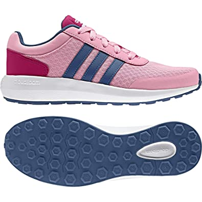 adidas Cloudfoam Race K, Zapatillas Unisex Niños, Rosa (Rossua/Azubas/rosfue