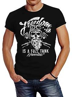 NG articlezz Hombre Biker Camiseta – Gorila Mono de Culto Camisa Manga Corta para la Motociclista bajo Euch. Talla S-XXXXXL: Amazon.es: Ropa y accesorios