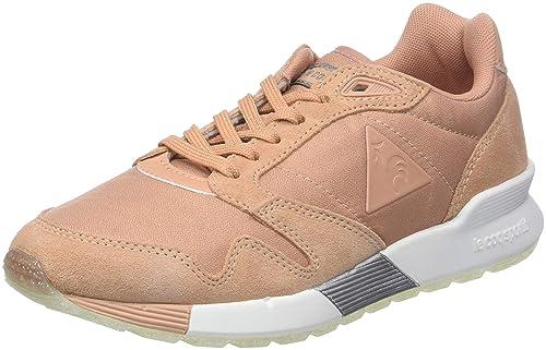 Le COQ Sportif Omega X W Metallic Dusty Coral/Old Silve, Zapatillas para Mujer: Amazon.es: Zapatos y complementos