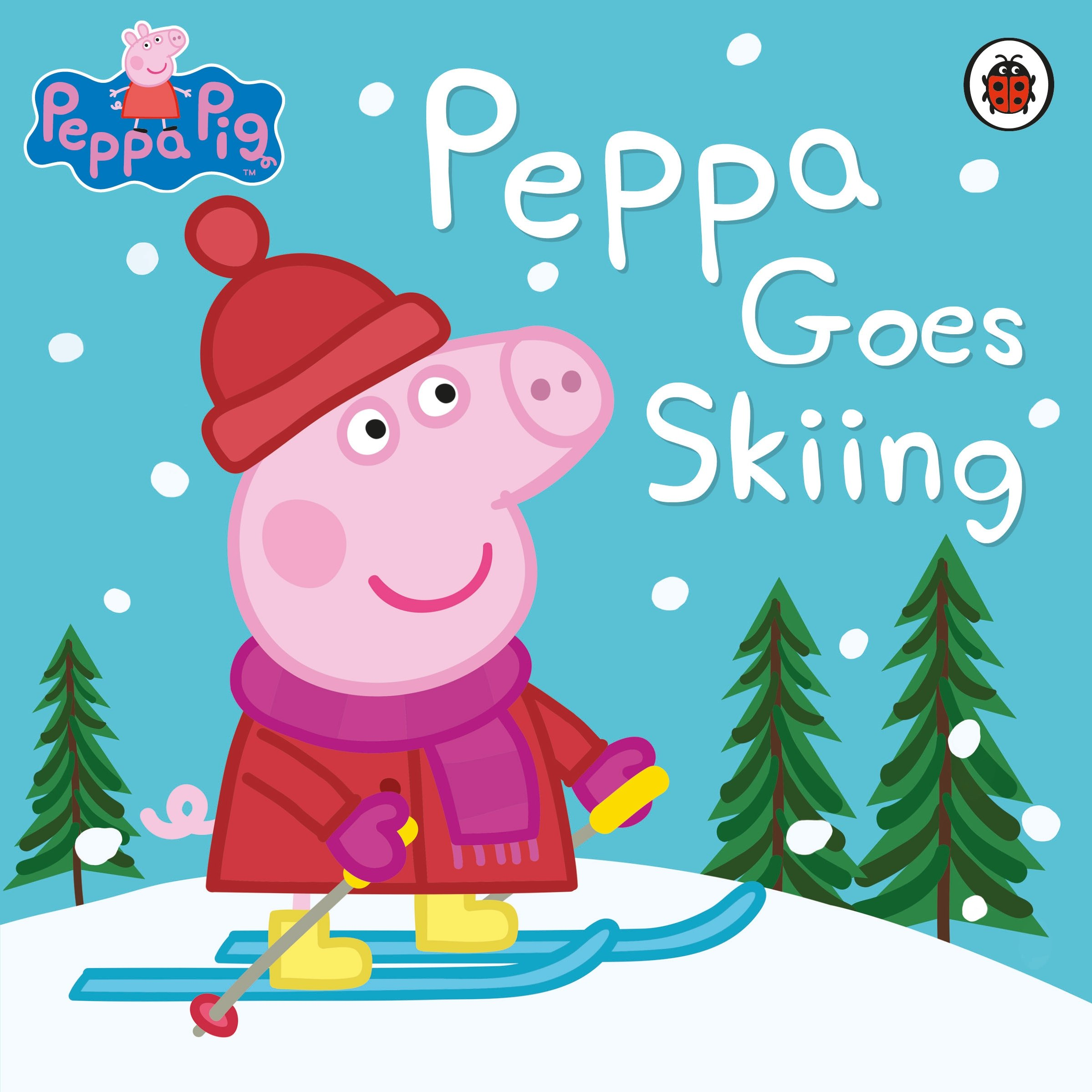 Peppa Pig Peppas First Sleepover Ladybird Goes Skiing
