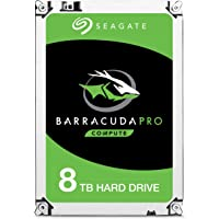 "SEAGATE Barracuda PRO Internal 3.5"" SATA Drive, 8TB, 6Gb/s, 7200RPM, 5YR WTY"
