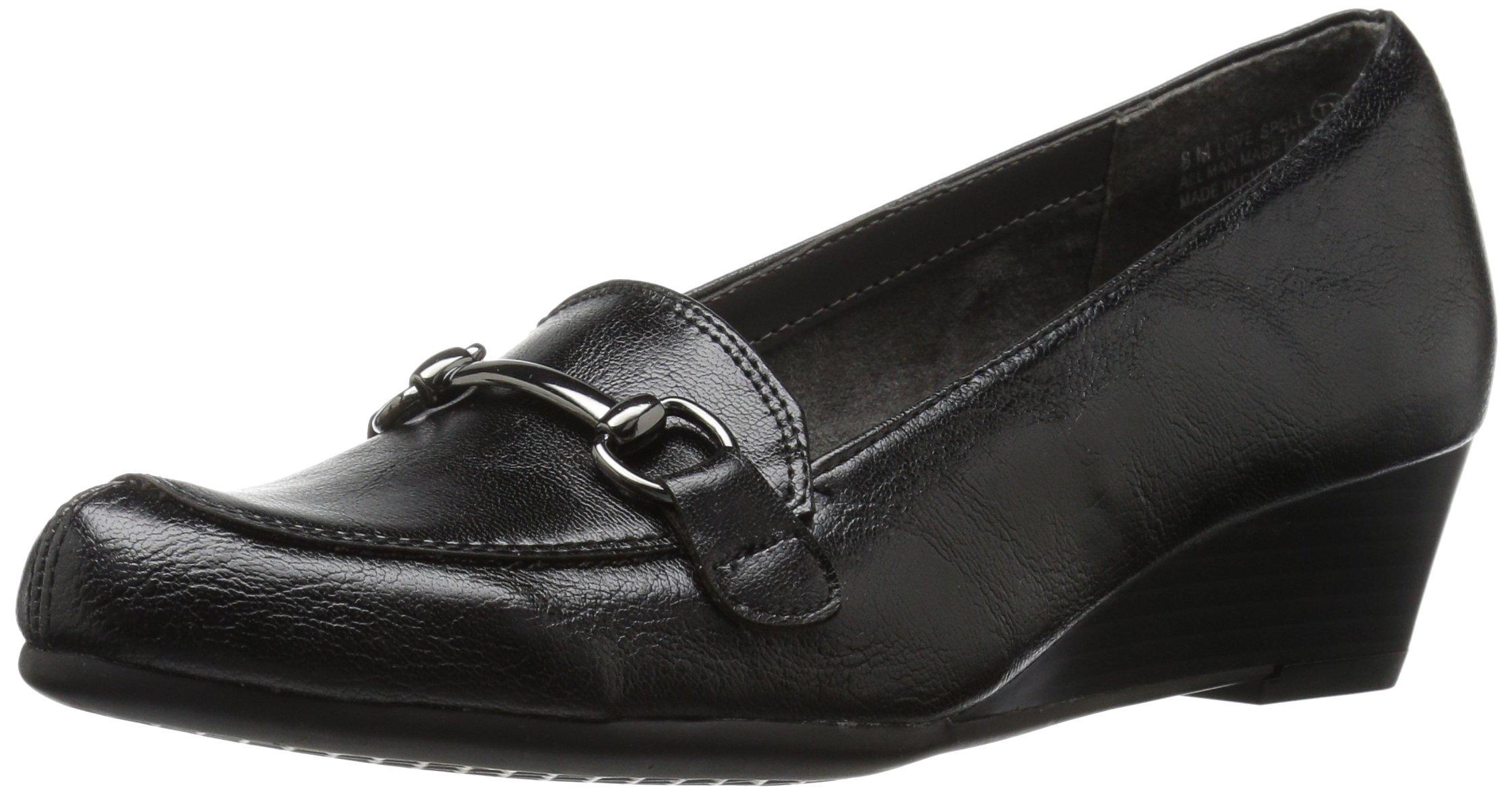 Aerosoles A2 by Women's Love Spell Slip-on Loafer, Black, 8 M US by Aerosoles (Image #1)