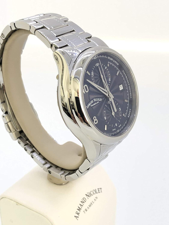 Reloj de hombre mecánico, cronógrafo, diseño deportivo clásico: Amazon.es: Relojes