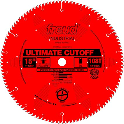 Freud 15 x 108T Ultimate Cut-Off Blade LU85R015