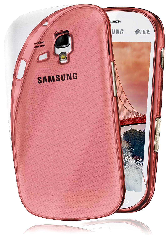 Funda Protectora OneFlow para Funda Samsung Galaxy S3 Mini Carcasa Silicona TPU 0,7 mm | Accesorios Cubierta protección móvil | Funda móvil paragolpes ...