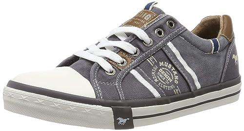 Mustang Shoes Herren Schuhe Sneaker grau: : Schuhe