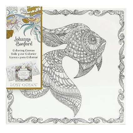 Amazon.com: Art Alternatives Johanna Basford Lost Ocean Coloring ...