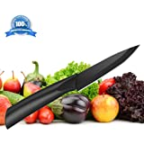 Ceramic Paring Knife – Best & Sharpest 4-inch Black Professional Kitchen Knife – Latest & Hardest Blade That Doesn't Need Sharpening for Years! Comes with a FREE Stylish Blade Cover