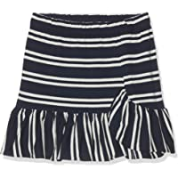 Scotch & Soda Yarn Dye Striped Jersey Mini Skirt with Ruffle Falda para Niñas
