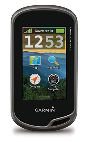 Amazoncom Garmin Oregon 600t 3Inch Worldwide Handheld GPS with