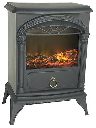 Amazon.com: Fire Sense Vernon Electric Fireplace Stove: Home & Kitchen