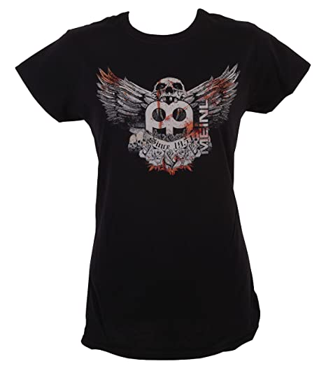 Amazon.com  Meinl Cymbals M36-L Women s Skull Logo T-Shirt 7ebc1a6db8