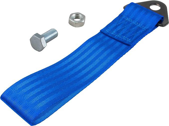 Tow Strap Abschleppschlaufe Blau Auto