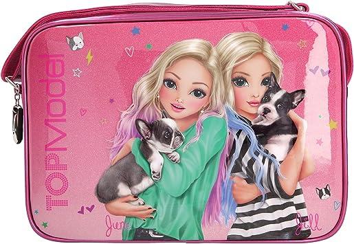 Depesche 10766 Bolso de Bandolera Top Model Amigos, Fucsia, Aprox. 34 x 24 X 10CM: Amazon.es: Juguetes y juegos