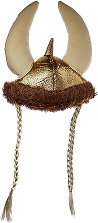 Amazing Amazon Com Jacobson Hat Company Womens Plush Metallic Viking Hat Hairstyles For Men Maxibearus