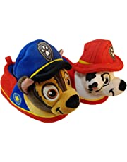 ACI International Paw Patrol Boys Slippers with Chase and Marshall