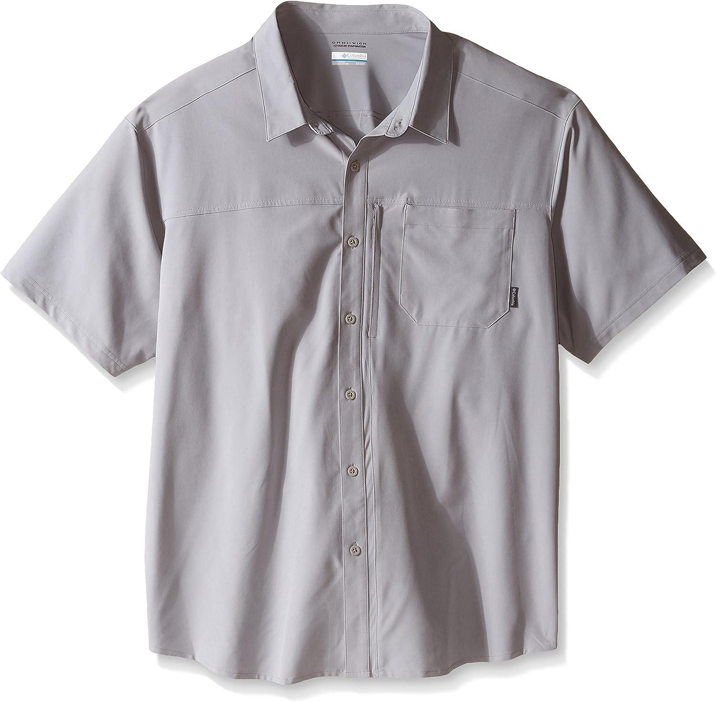 Columbia Big Global Adventure IV - Camiseta de Manga Corta para Hombre, Hombre, Color Columbia Grey, tamaño 1 Unidad: Amazon.es: Deportes y aire libre