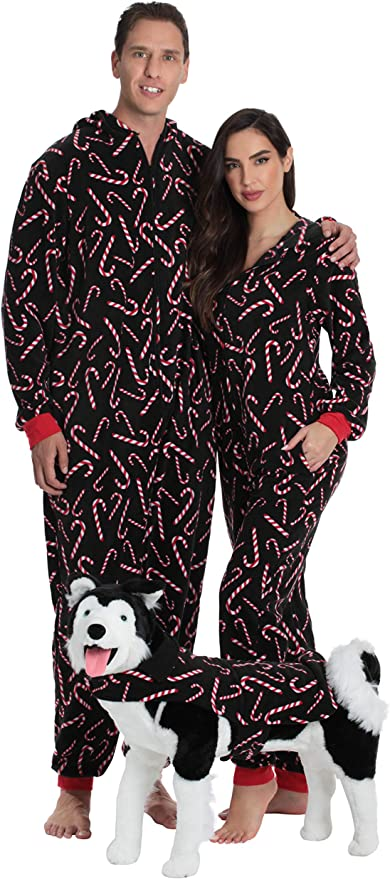 Candy Cane Family Pajamas