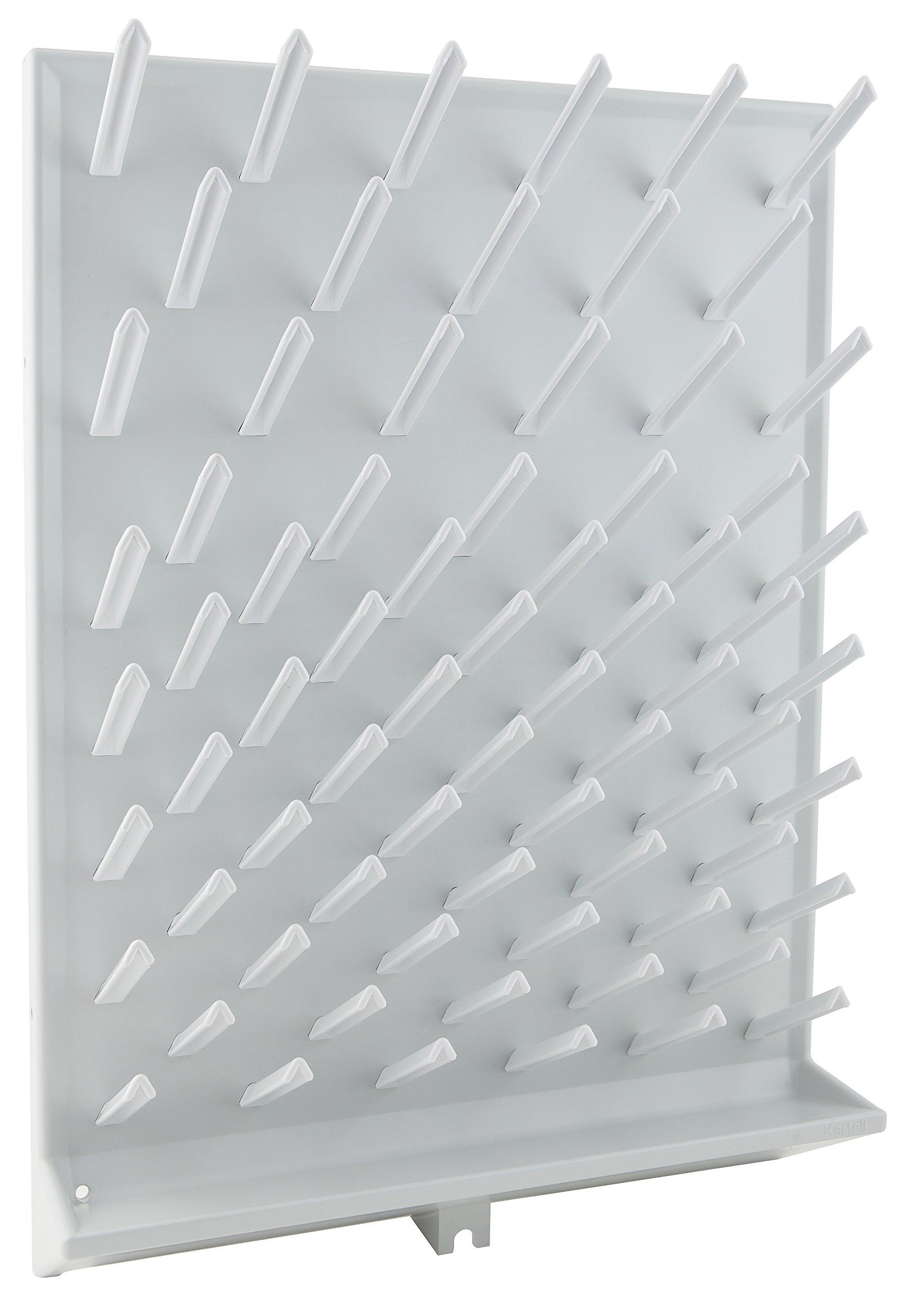Dynalon 259184 72 Place Drying Rack, Polystyrene, Milliliters, Degree C, Polystyrene, White (