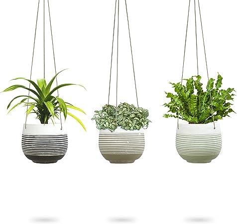 Drain Pipe Flower Pot Holder Plant Hanger Flower Basket Balcony Garden Planter