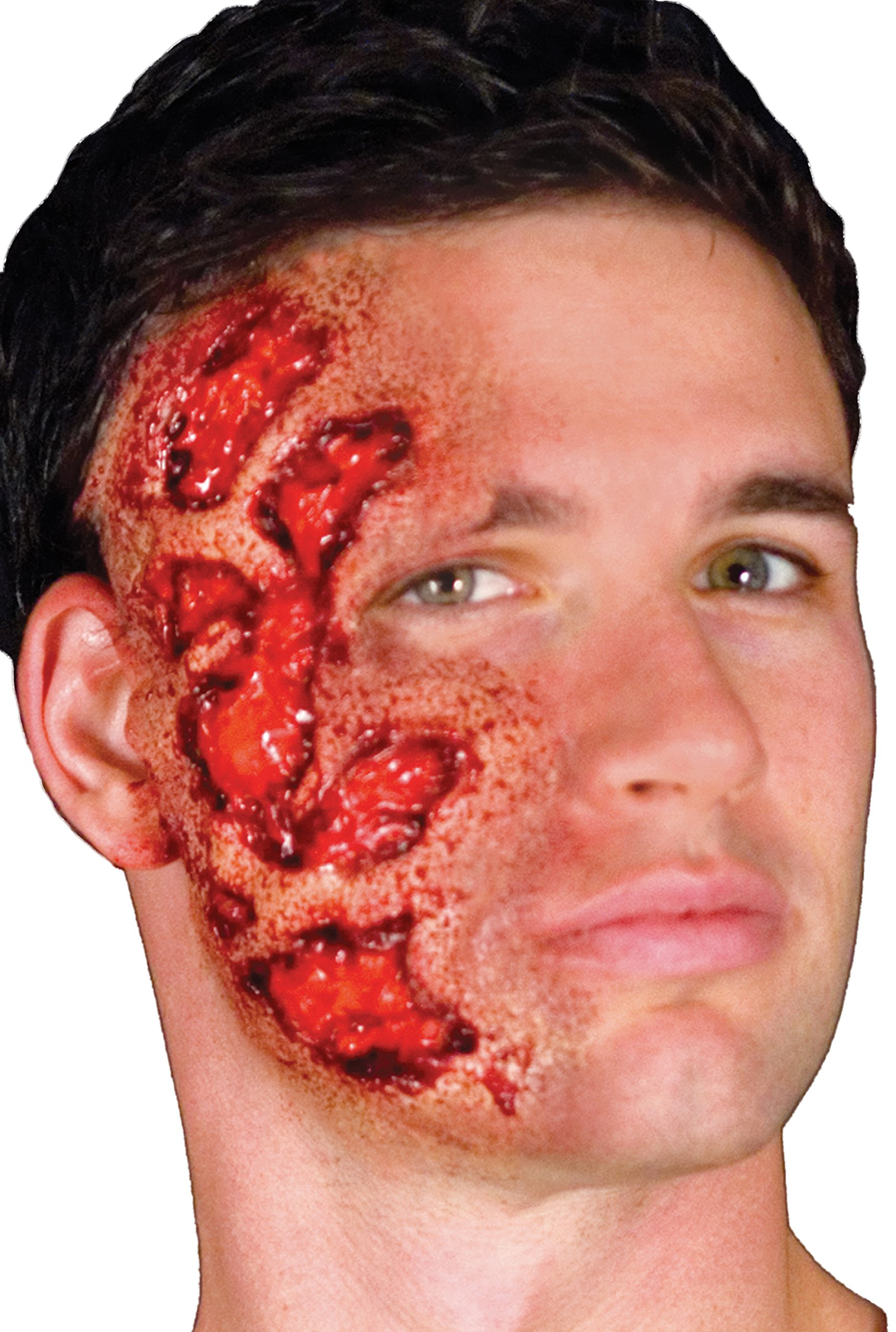 Woochie Classic Latex Appliances - Professional Quality Halloween Costume Makeup - 3D Burn by Woochie (Image #2)