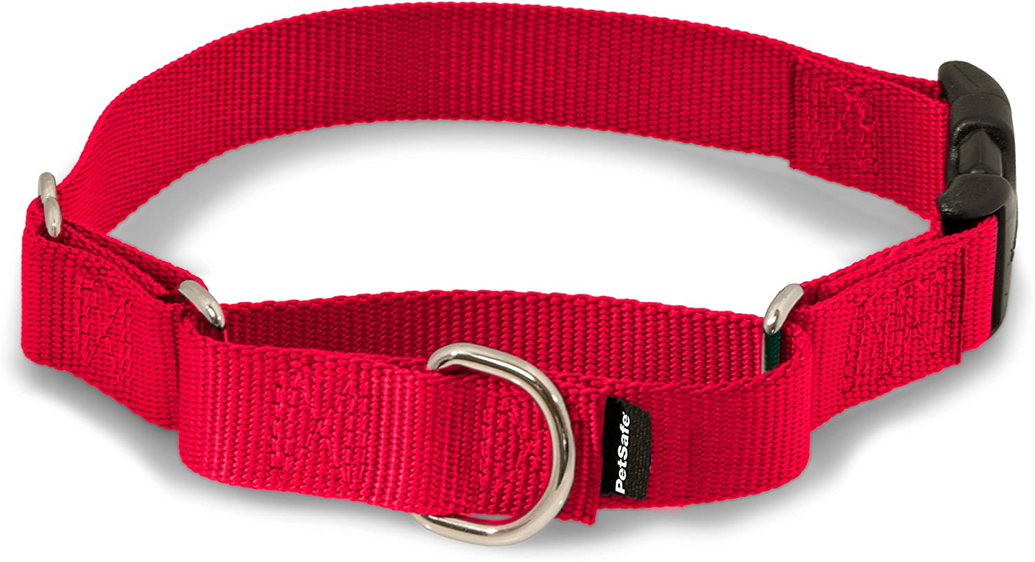 "PetSafe Martingale Collar with Quick Snap Buckle, 1"" Large, Red : Premier Martingale Collar : Pet Supplies"
