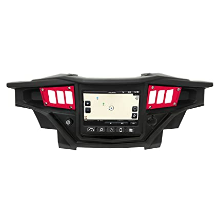 2017 Polaris RZR XP1000 Ride Command Edition 1 Pc Dash Panel Red Powdercoated