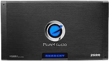 Amplificador Para Carro Auto Car Amplifier 2600 Watt Remote Subwoofer Control