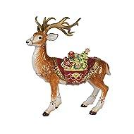 Fitz and Floyd 49-660 Renaissance Holiday, Deer Figurine