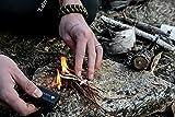The Friendly Swede Magnesium Flint Fire Starter - 3 Pack - Survival Firesteel Blocks with Striker, Camping Emergency Equipment