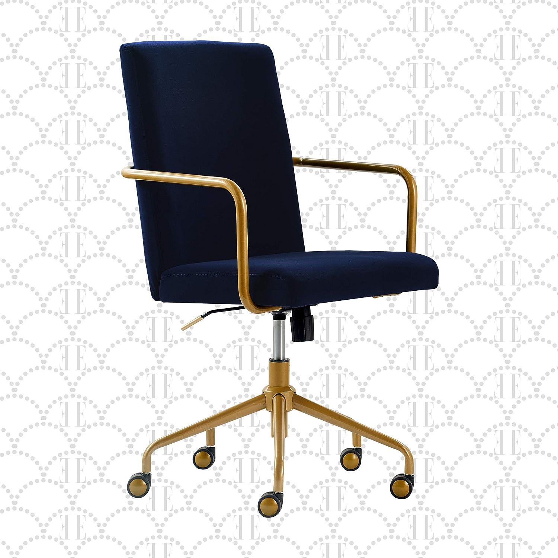 Amazon.com: Elle Decor Giselle Modern Home Office Desk Chair, High