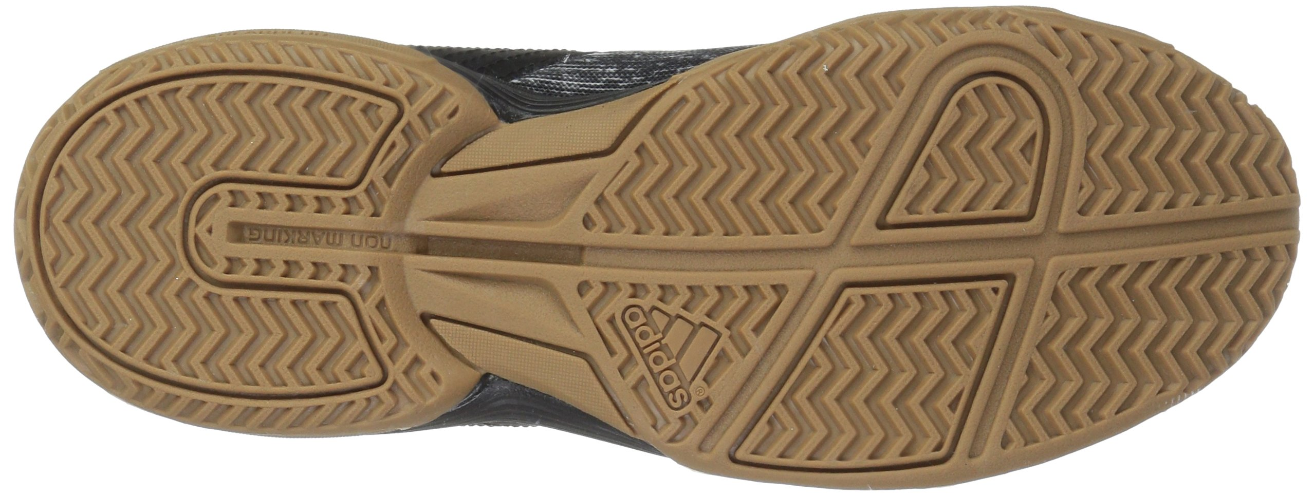adidas Women's Ligra 6 Volleyball Shoe, Black/Silver Metallic/White, 7 M US by adidas (Image #3)
