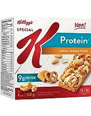 Kellogg's Kellogg's Special K Protein Bars - Cashew Caramel Pretzel, 4 Bars, 144g, 144 Grams