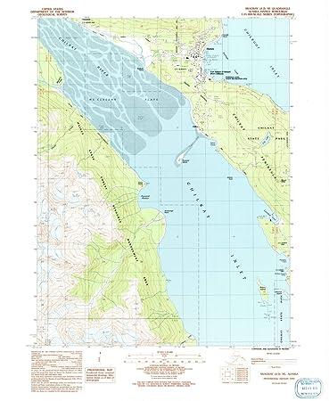 Amazon.com: Alaska Maps | 1991 Skagway, AK USGS Historical ...