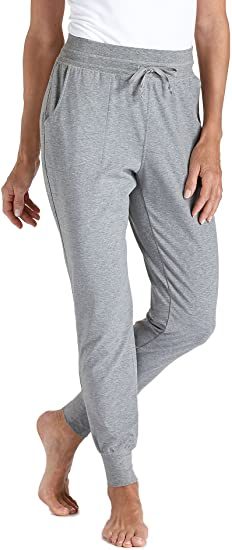 a20c5fa314 Coolibar UPF 50+ Women's Weekend Pants - Sun Protective (X-Small- Grey