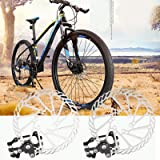 DHOUTDOORS Mountain Bicycle Bike Mechanical Disc Brake G3 Rotors Front & Rear Caliper 160mm