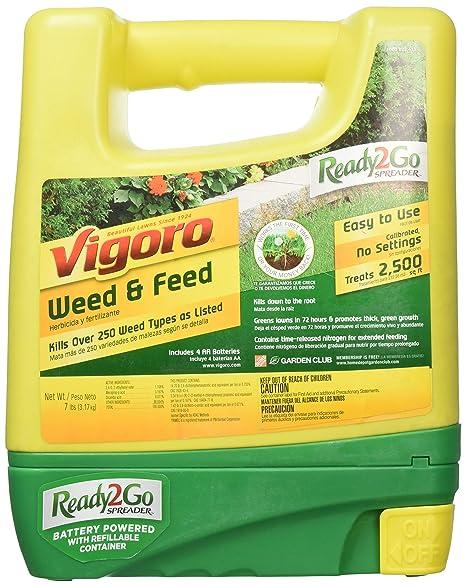 Vigoro weed and feed spray