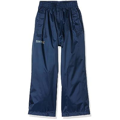 Regatta boys Regatta Boys & Girls Kids Pack It Lightweight Waterproof Overtrousers