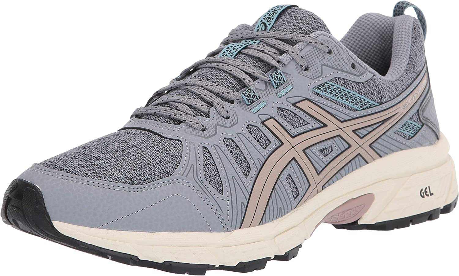 ASICS Womens Gel-Venture 7 MX Trail Running Shoes, 5M, Sheet Rock/Fawn: Amazon.es: Zapatos y complementos