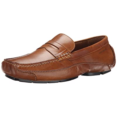 Rockport Men's Luxury Cruise Penny Tan Loafer | Shoes