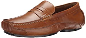 Rockport Men's Luxury Cruise Penny Tan Loafer 14 M (D)